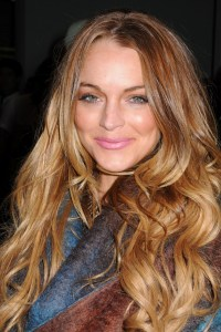 Lindsay Lohan leaves incarceration