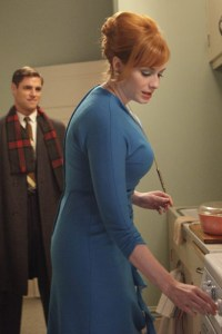 Christina Hendricks shows off her Mad Men curves