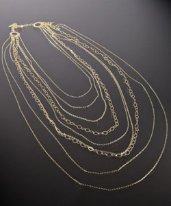 classic fashion accessory: Statement necklace or earrings
