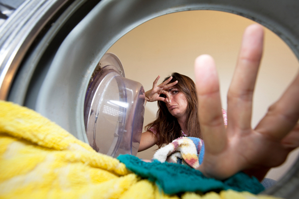 Mildew smelly laundry