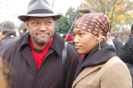 Laurence and Montana Fishburne