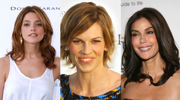 Ashley Greene, Hilary Swank, Terri Hatcher