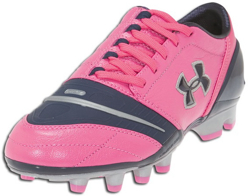 Under Armour Power in Pink Dominate Cleat