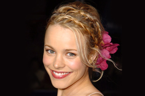 Rachel McAdams' long hairstyle