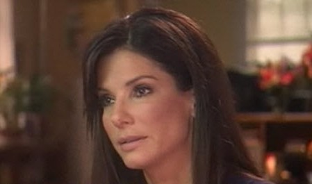 Sandra Bullock visits Today