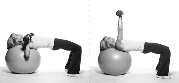 Exercise 3: Chest Press on Ball