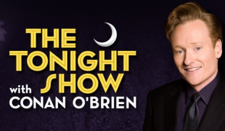 The Tonight Show with Conan O'Brien is up for an Emmy
