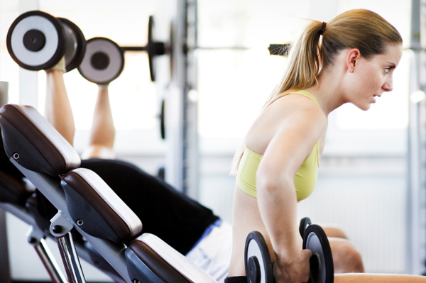 Women at risk of weight-lifting injuries