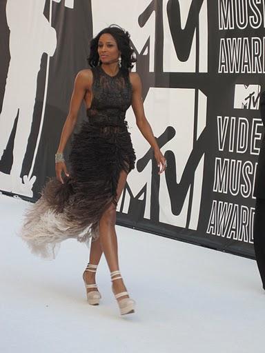 Ciara at the VMAs