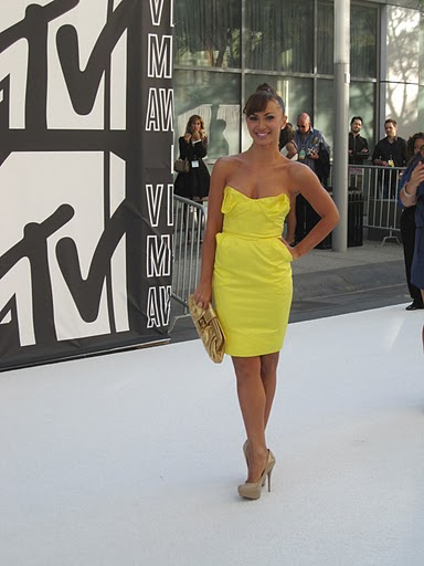 Karina Smirnoff at the VMAs