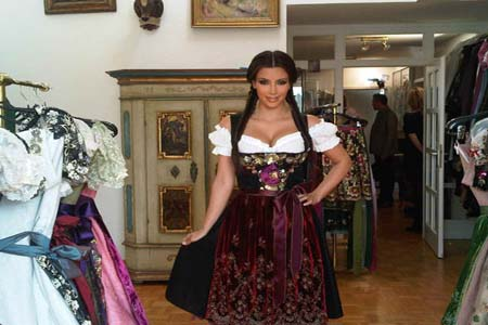 Kim Kardashian in Germany