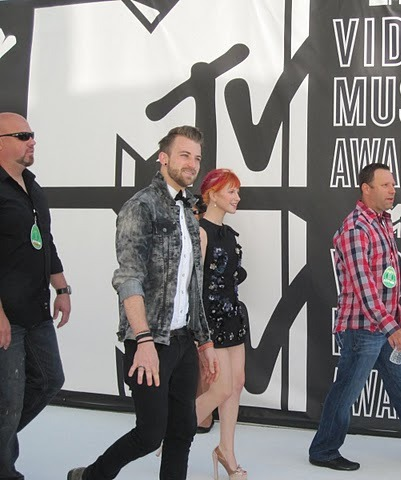 Paramore at the VMAs
