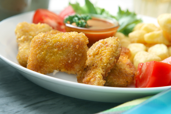 ... easy mealtime munch. When homemade, chicken nuggets are positively