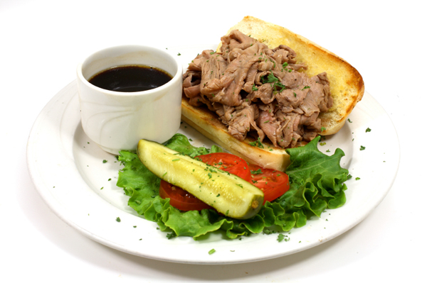 Fast French Dip Sandwiches