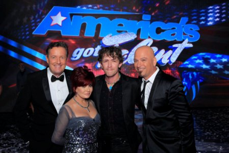America's Got Talent: Piers Morgan, Sharon Osbourne, Michael Grimm and Howie Mandel
