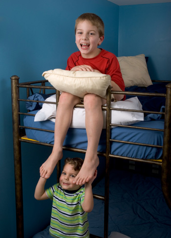 Boys in bunkbed