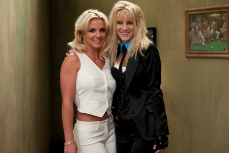 Britney Spears and Brittany on Glee
