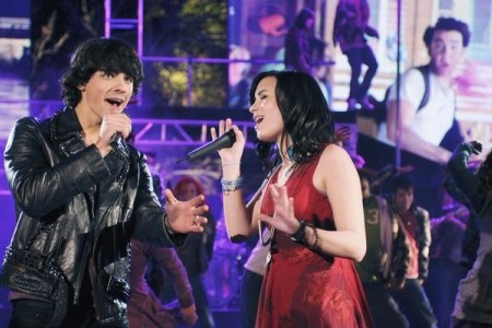 Camp Rock 2 stars The Jonas Brothers and Demi Lovato