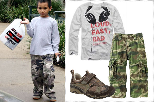 Maddox Jolie Pitt Fashion