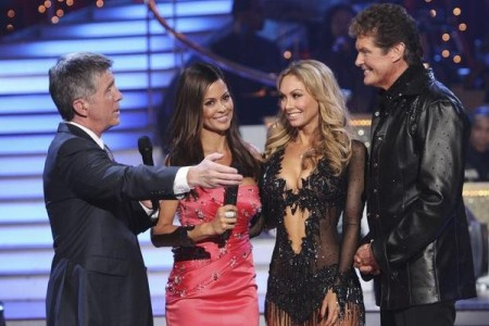 DWTS: The Hoff is gone!