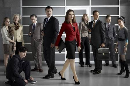 The cast of The Good Wife