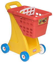 Grocery cart push toy