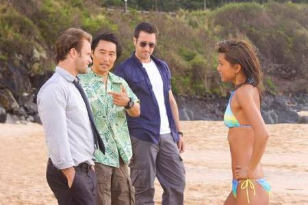 The cast of Hawaii-Five-O
