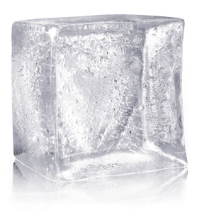 Use ice to numb the area when treating a cold sore
