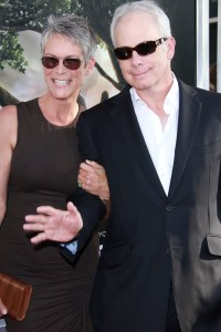 Jamie Lee and her husband Christopher Guest
