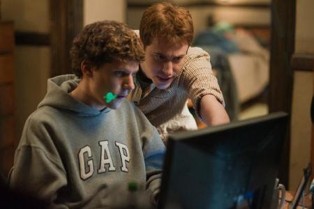 Jesse Eisenberg is Mark Zuckerberg