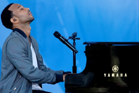 John Legend performs live