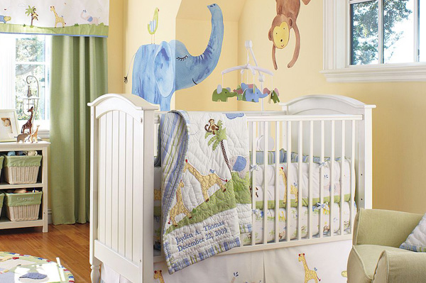Decorating tips for a gender neutral nursery