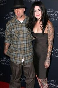 James and Von D: tattooed couple