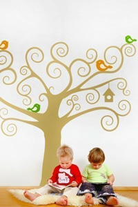 Kids Vinyl wall decal