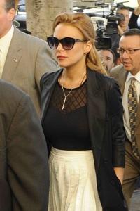 Lindsay Lohan sent to the slammer!