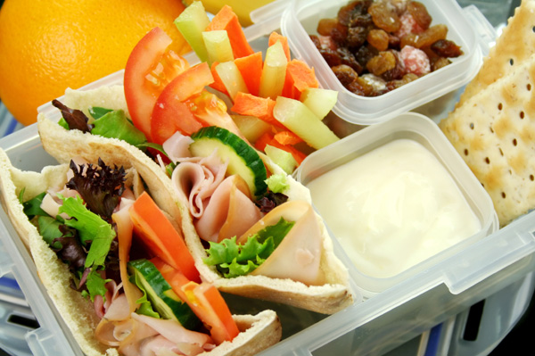 Lunchbox with snacks