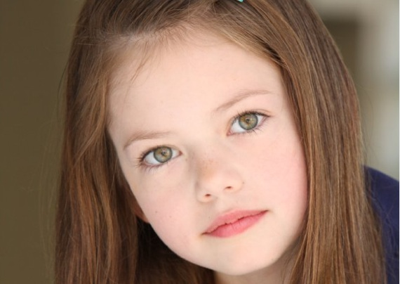 Mackenzie Foy as Renesmee in Breaking Dawn