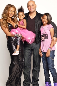 Mel B and her family