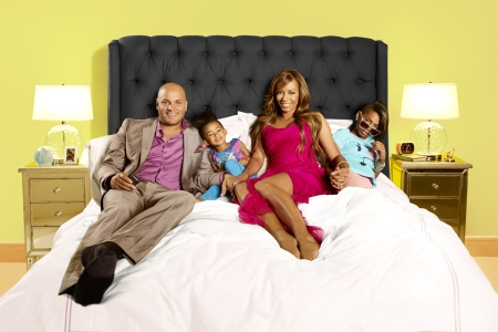 Mel B and the family