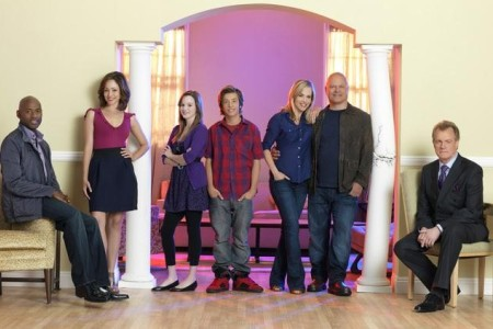 The cast of No Ordinary Family
