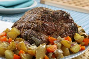 Fall pot roast recipe