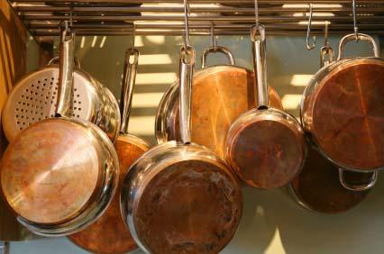 organized pots