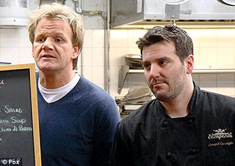 Gordon Ramsay and Cerniglia