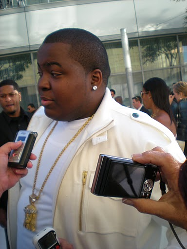 Sean Kingston at the VMAs