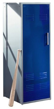 Sports locker for bedroom