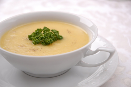 Fall sweet potato soup recipe