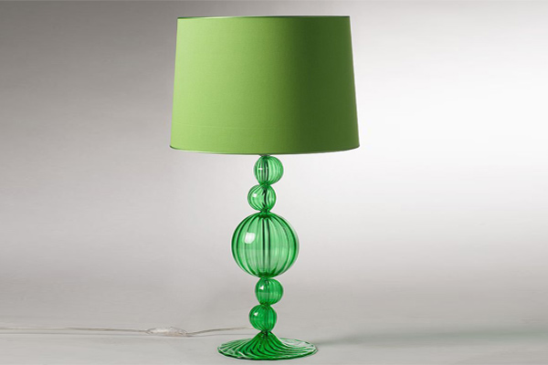 Versace rita green table lamp