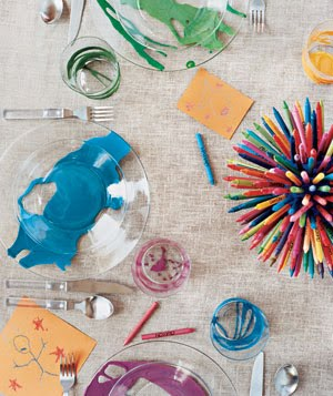Kids' table preparedness: Make the kids table the place to be