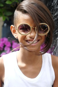 Willow Smith rocks