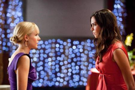 Kristen Bell and Odette Yustman in You Again